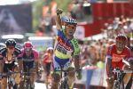 Tour d'Espagne - #3: Sagan retrouve enfin le goût de la victoire, deux ans plus tard! - Enfin! Deux ans après sa dernière victoire d'étape sur un Grand Tour, le champion de Slovaquie Peter Sagan (Tinkoff-Saxo) a enfin retrouvé le goût du succès sur les routes du Tour d'Espagne. A l'occasion d'une troisième étape plus tranquille que la veille, l'emballage massif a été tr&eg