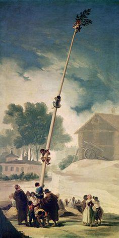 Francisco José de Goya: Der Maibaum. 1786/1787.