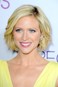 Brittany Snow Bob - Short Hairstyles Lookbook - StyleBistro