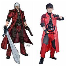 DMC Devil may Cry 4 Dante Cosplay Costume #DevilmayCry #Dante #cosplay #costume #cosplayclass #game