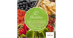 "THRIVE stays healthy and fresh-tasting for years to come. Click here to see why THRIVE foods are even fresher than the ""fresh"" foods at the grocery store. http://ltl.is/oqeHQ"