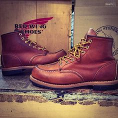 Old Redwing Boots Vintage Cognac Irish Setter Red Wing