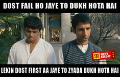 Friendship quotes 3 Idiots Dialogues We are sharing Funny 3 Idiots Dialogues Meme Bollywood Dialogues Meme By Filmy Keeday Famous Dialogues, Funny Dialogues, Bollywood Funny, Bollywood Quotes, 3 Idiots Quotes, Funny Video Memes, Funny Jokes, Desi Jokes, Wtf Moments