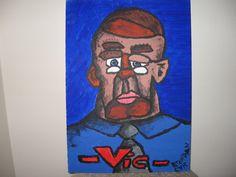 -Vic- - Clear Dementia - Brendan Aaron Cyr's Clear Dementia Post Modern, Modern Art, Online Album, Postmodernism, Dementia, Superhero, Painting, Fictional Characters, Painting Art