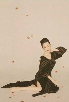 孙俪、范冰冰、Angelababy如古风画卷般的古典服饰,简直美哭了!