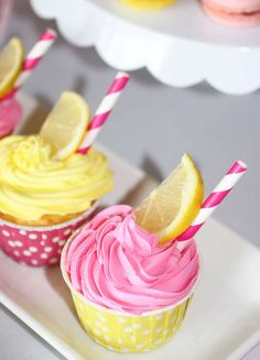 Pink Lemonade Stand Birthday Party Ideas | Photo 9 of 73 | Catch My Party