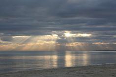 Chelsea Beach at sunset