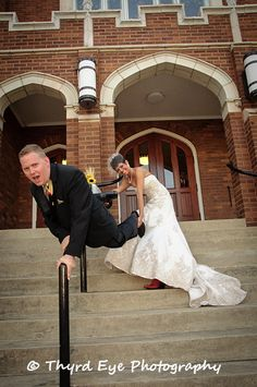 I had always wanted to try this shot. Cold feet, wedding, wedding photography, fun shoots, church, wedding dress, fun wedding photo, Photography, boots, fearful