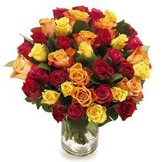 boeket weelderige rozen