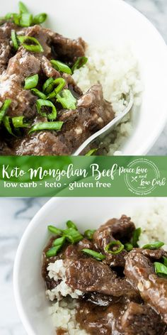 If you are craving low carb Chinese food, this paleo, keto Mongolian Beef is going to absolutely hit the spot. It is quick and easy to make, and bursting with flavor. Beef Recipes, Low Carb Recipes, Real Food Recipes, Cooking Recipes, Beef Meals, Healthy Recipes, Homemade Chinese Food, Low Carb Chinese Food, Mongolisches Rind
