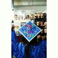 Cosmetology graduation cap Beauty school grad