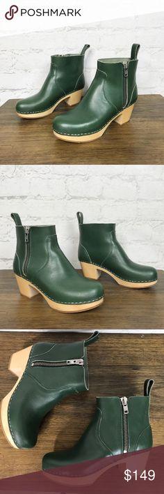 1e6c25e0c2 Swedish Hasbeens Zip It Emy Boots Size 39 9 Swedish Hasbeens Zip It Emy  Boots Size
