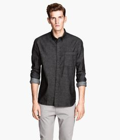 Hm denim skjorte