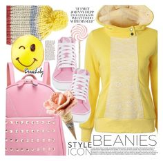 """Bad Hair Day: Beanies"" by vanjazivadinovic ❤ liked on Polyvore featuring Billabong, Vans, dresslily and polyvoreeditorial"