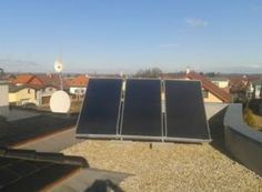 Solární ohřev Zvole u Prahy