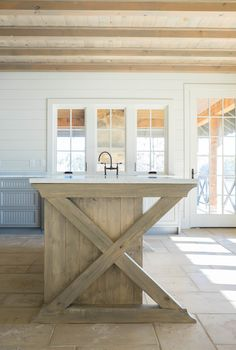 Crane Hill Lakeside Retreat, Smith Lake Alabama with Hammer Bilt Homes Kitchen Architectural Detail Rustic Architectural Details Transitional by Amanda Cooper Interiors