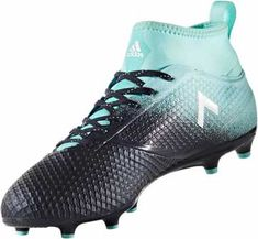 d91d3d71e876 adidas ACE 17.3 FG Soccer Cleats - Energy Aqua   Legend Ink Soccer Boots