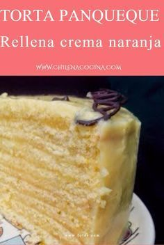 Tradicional chilena Como hacer panqueque Relleno crema naranja Chilean Recipes, Crepe Cake, Sweet Pastries, Vanilla Cake, Sweet Recipes, Meal Prep, Cake Decorating, Brunch, Food And Drink