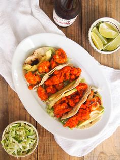 Vegetarian Sriracha-Lime Cauliflower Tacos