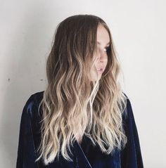 Icy blonde ombre by Dominick Serna