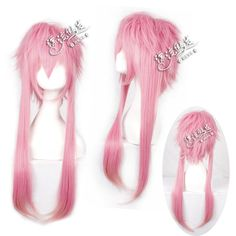 Stock!!Pink Shaggy layered anime cosplay costume wig.synthetic hair.Free shipping-in Synthetic Wigs from Beauty & Health on Aliexpress.com   Alibaba Group