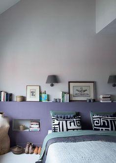 Une chambre douillette : tête de lit