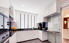kitchen design layout U-shape