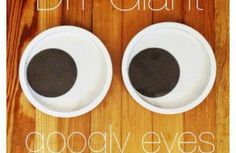 How to Make Giant Googly Eyes