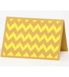 Make your own #chevron #card :) @Cricut®