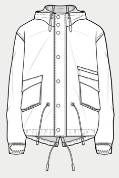 Technical drawing Within the last few 30 years, the evolution of fashion has been around Flat Drawings, Flat Sketches, Technical Drawings, Fashion Sketch Template, Fashion Templates, Fashion Design Portfolio, Fashion Design Sketches, Clothing Sketches, Dress Sketches