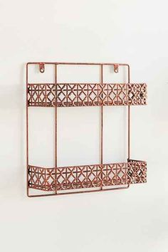 Claire's hall 15w x 15h x 4d $29Double Decker Wall Shelf - Urban Outfitters