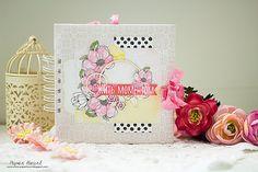 Paper Heart: ♥ Альбомчик Magnolia Sky и моя именинница ♥