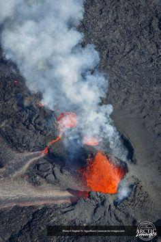Holuhraun Fissure Eruption, by the Bardarbunga Volcano, Iceland