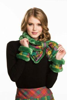 Cuffs & Collars MacMillian Green Collar And Cuff, Tartan Plaid, One Design, Tweed, Collars, Cuffs, Mad, Glamour, Shoe