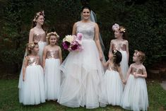 These Flower girls will surely add the wow factor to your wedding! Designer Flower Girl Dresses, Rustic Elegance, Bridesmaid Dresses, Wedding Dresses, Wedding Gallery, Wow Products, Flower Girls, Special Occasion Dresses, Wedding Styles