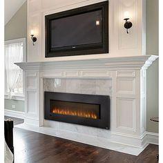 Slimline 72 Linear Electric Fireplace