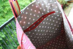 Innentasche mit Reißverschluss