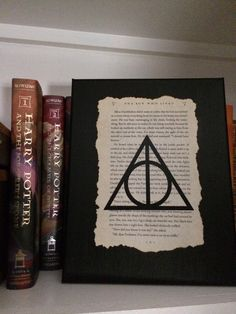 A personal favorite from my Etsy shop https://www.etsy.com/listing/250696684/harry-potter-book-page-art