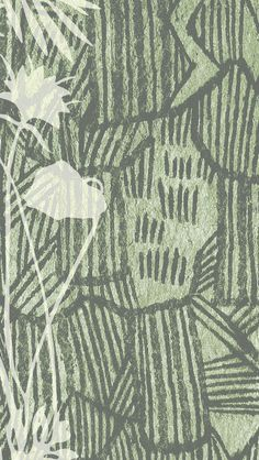 iPhone wallpaper #tropical #hawaii #green #pattern #aloha