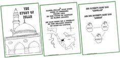 Seerah Coloring Book - imanshomeschool.wordpress.com