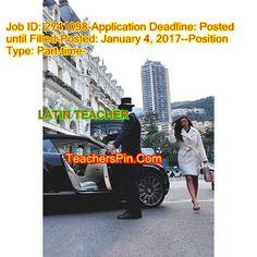 Job LATIN TEACHER Austin, TX 82199494