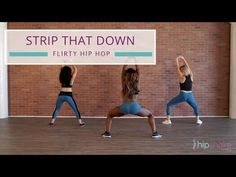 C'mon, strip that down, dance with us! Nicole Steen is back with a super sexy dance and easy Strip That Down choreography. This hip hop dance routine is a fu. Hip Workout, Workout Videos, Hip Hop Youtube, Scoliosis Exercises, Dance Tips, Sexy Hips, Dance Routines, Muscle Body, Hip Hop Dance