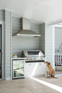 Great idea if you dont have much space for an outdoor kitchen.