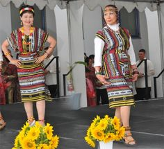 """Igorot costume is very simple. The men wear long strips of handwoven loin cloth called """"wanes"""". The woman wear a kind of wrap-around skirt called """"lufid"""". Unique Costumes, Costumes For Women, Modest Outfits, Casual Outfits, Modest Clothing, Filipiniana Dress, Clothing Themes, Filipino Fashion, Filipino Culture"""