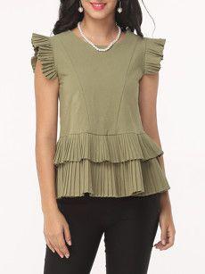Buy e Blouses, Blouses for Women Online - Fashionmia.com Page 12