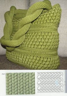 Shopper with leather bottom bag crochet Because these hand bags can certainly Crochet Angel Pattern, Crochet Purse Patterns, Crochet Stitches, Crochet Rope, Easy Crochet, Knit Crochet, Crochet Handbags, Crochet Purses, Crochet Bags