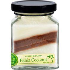 Aloha Bay Candle Cube Jar Perfume Blends Bahia Coconut 6 Oz