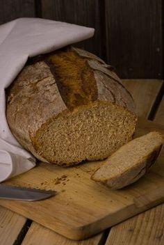 Anfängerbrot, kann jeder! Buttermilchbrot Römertopf Brot backen Topf
