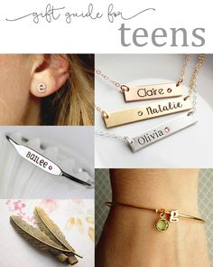 Gift guide for teens! www.tomdesign.etsy.com