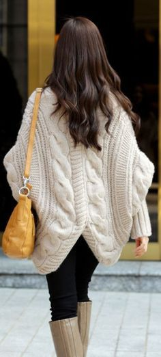 loooove this chunky knit